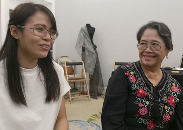 Lyn Liza C. Silva y Anna India Dela Cruz