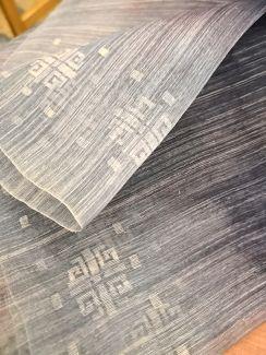 Tejido de piña-seda