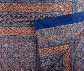 Traditional double-sided spread with dabuli (round jewel-box) pattern / sahapedia.org