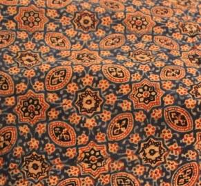 Cotton spread from Khatri Abdul Rauf's workshop, Gujarat, 2015 / sahapedia.org